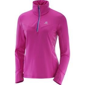 Salomon Trail Runner Warm Mid Shirt rose violet